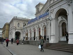 Балтийский вокзал Санкт-Петербурга