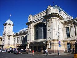 Витебский железнодорожный вокзал Санкт-Петербурга